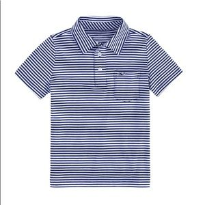 Vineyard Vines Boy's Soft Striped Polo Size 7